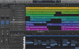 video corso logic pro x - arrange