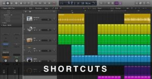Shortcuts Logic Pro X