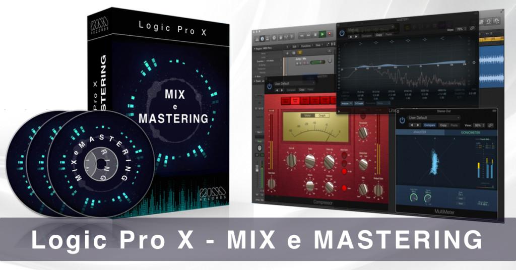 logic pro x mix e mastering