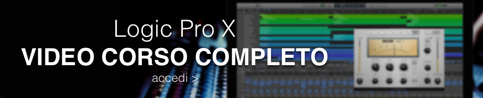 video corso logic pro x