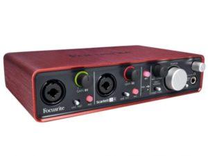 scheda audio