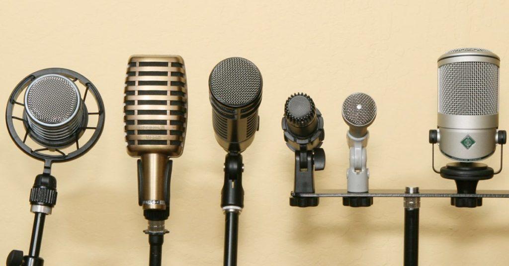 tipi di microfoni