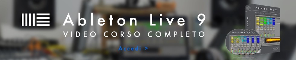 video corso ableton live 9