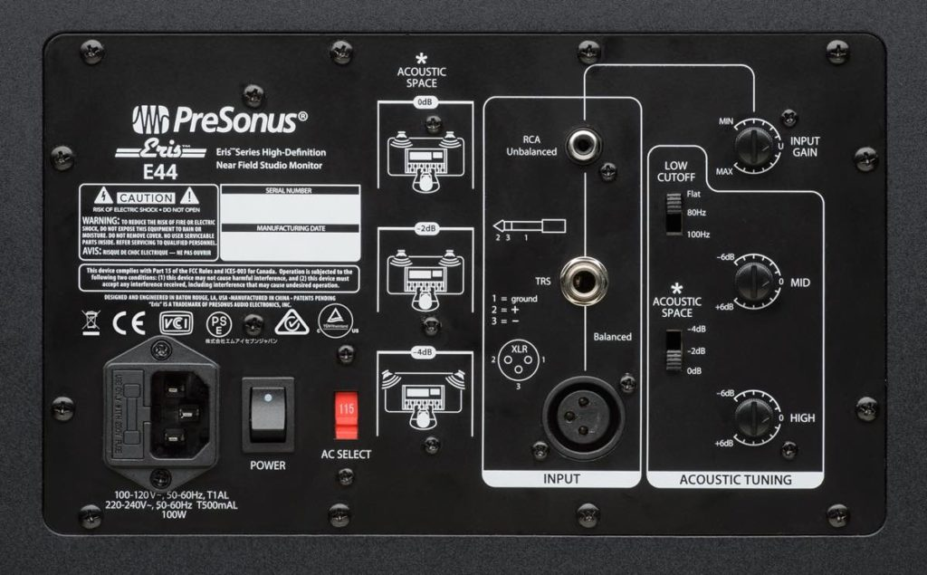 monitor input