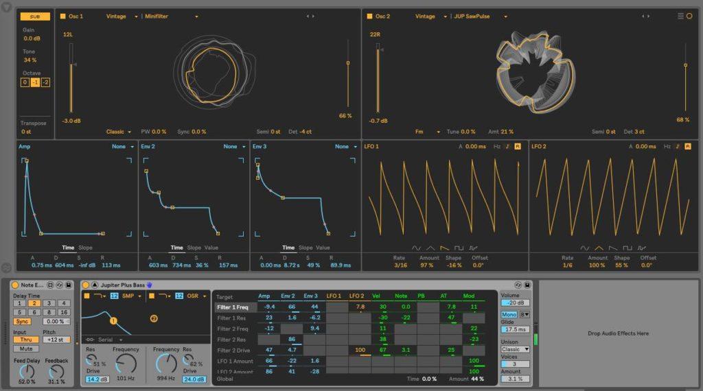 wavetable ableton live 10.1