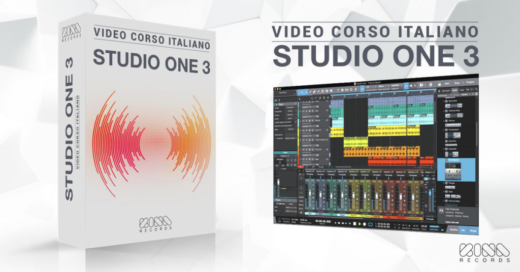studio one 3 tutorial italiano
