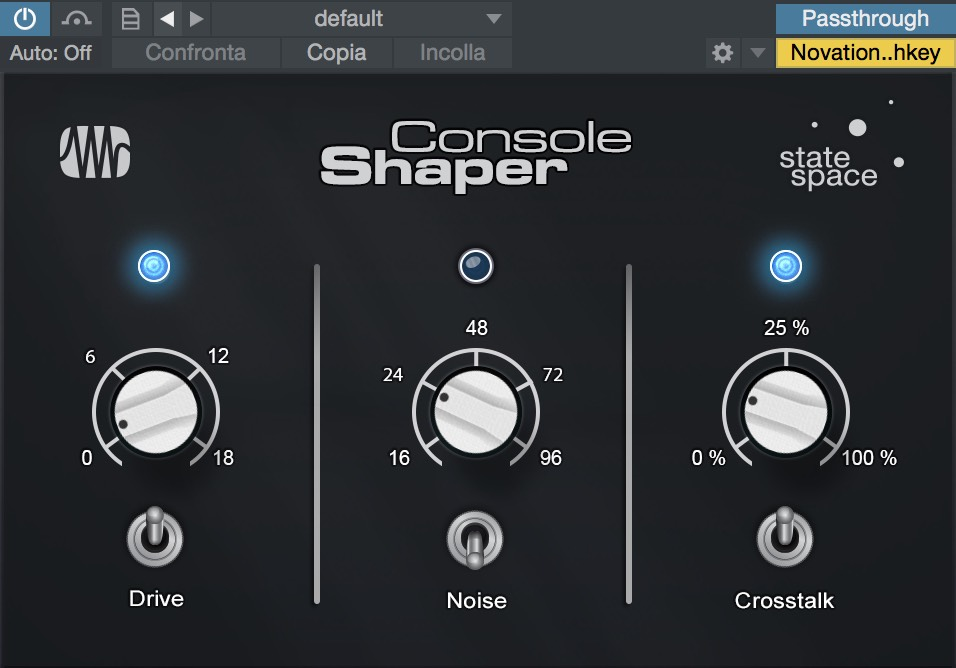 vst di studio one console shaper