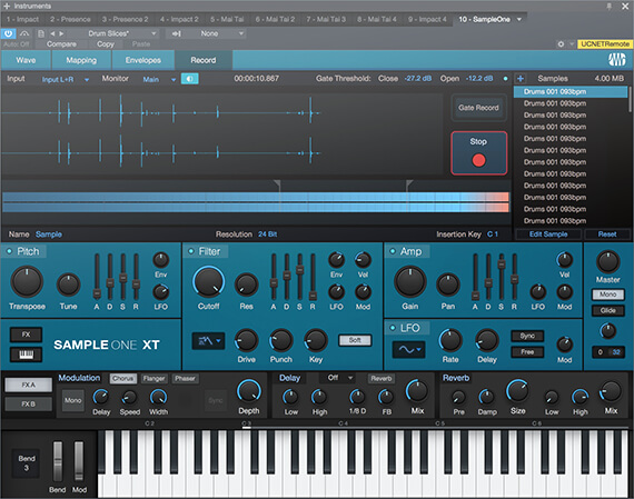 vst di studio one sample one xt
