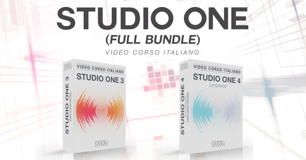 studio one tutorial italiano