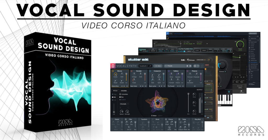vocal sound design tutorial italiano