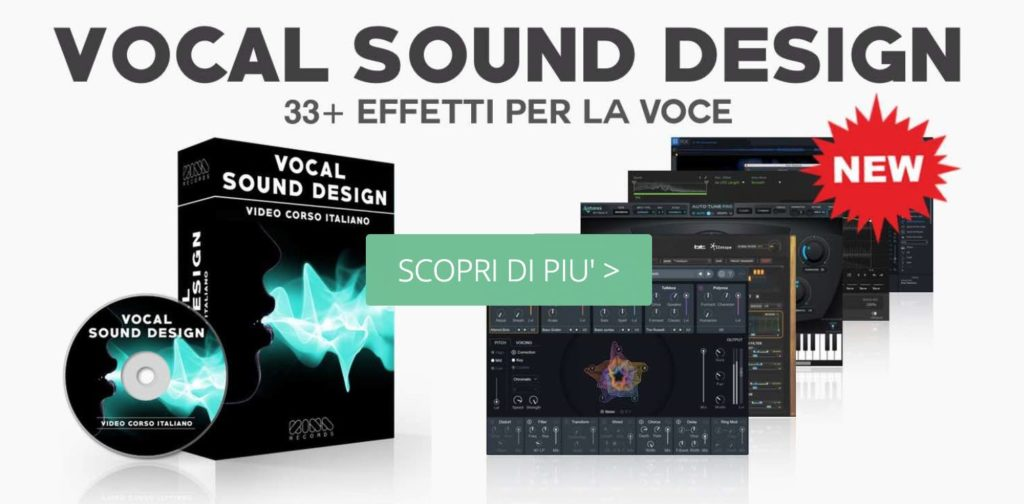 effetti per la voce vocal sound design