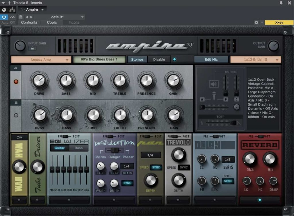 studio one vst ampire xt