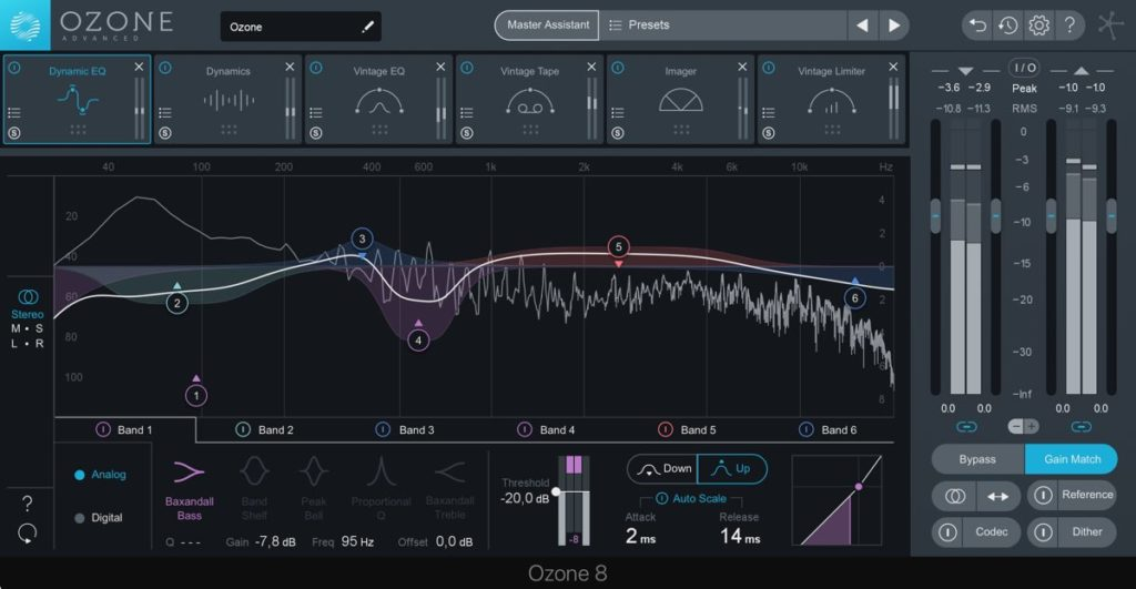 mastering in the box ozone 8 dynamic eq
