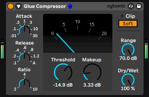 glue compressor live