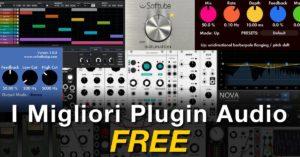 i migliori plugin audio gratuiti