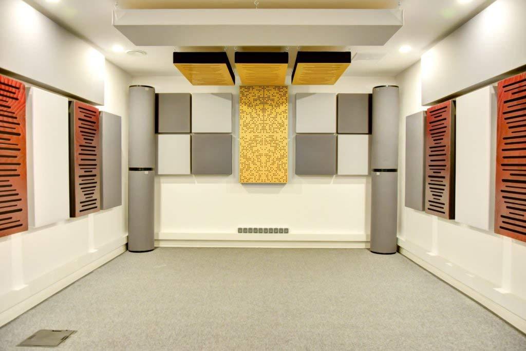 recording studio pannelli fonoassorbenti