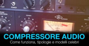 compressore audio