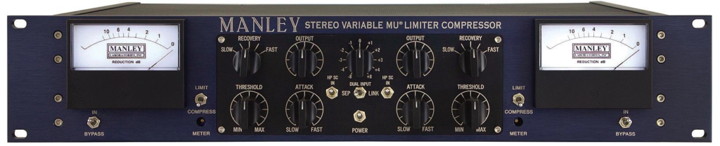 Manley Variable Mu Stereo Compressor