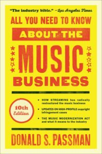 Libro di music Business All You Need to Know About the Music Business di Donald S. Passman