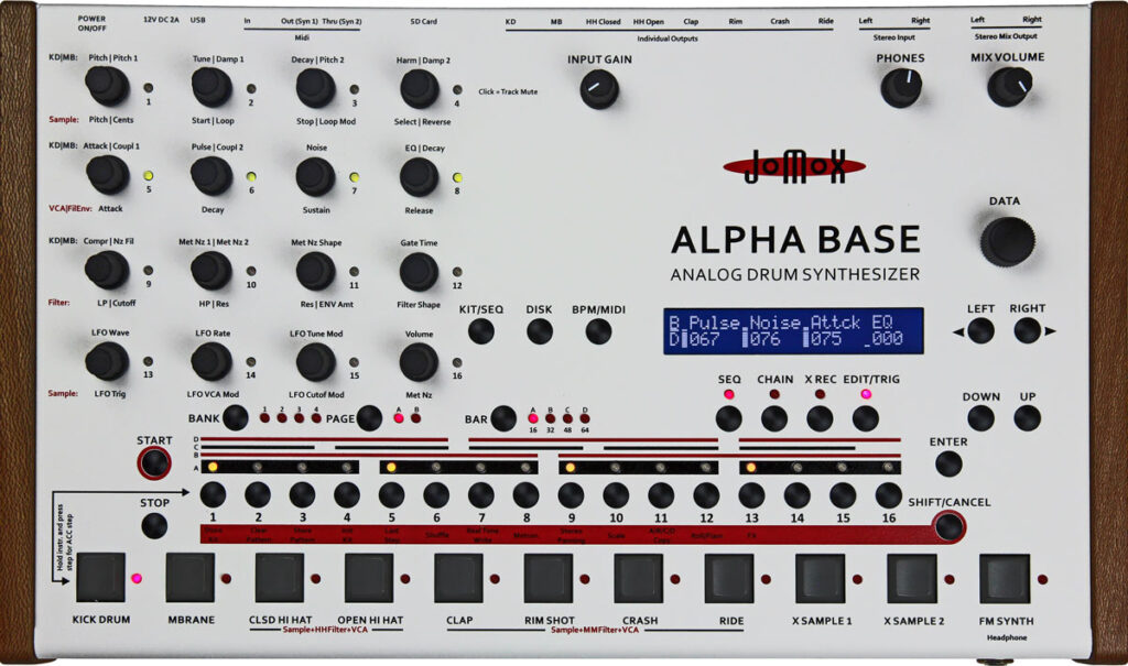 JoMox Alpha Box drum machine