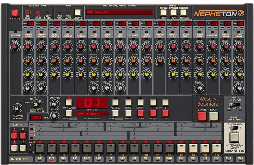 D16 Group Nepheton drum machine vst