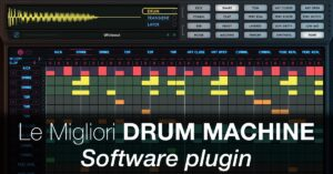 migliori drum machine software plugin