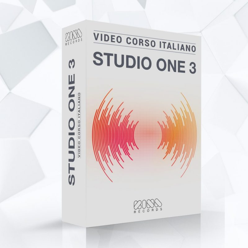 Video Corso Presonus Studio One 3