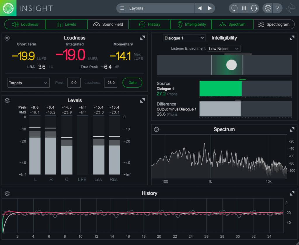 izotope insight 2 loudness meter